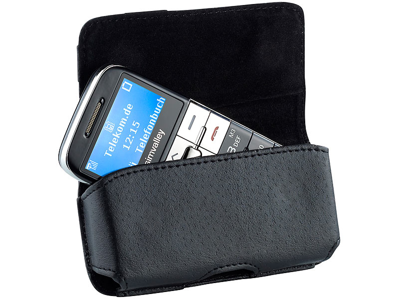 Pochette ceinture pour »XL-959 937 et Easy 5 et 5+ » – Simvalley.fr e357387b936
