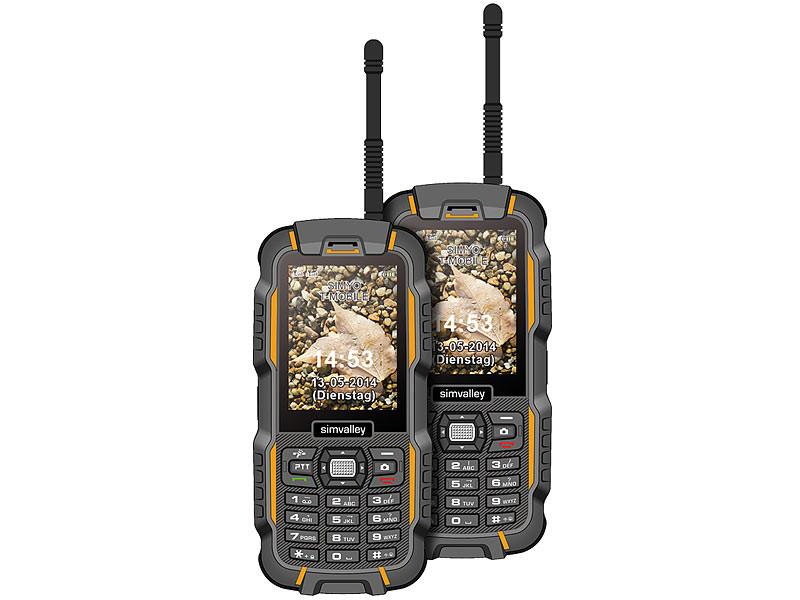 2 téléphones outdoor Dual SIM »XT-980 » avec fonction Talkie Walkie ... 0a70887042d
