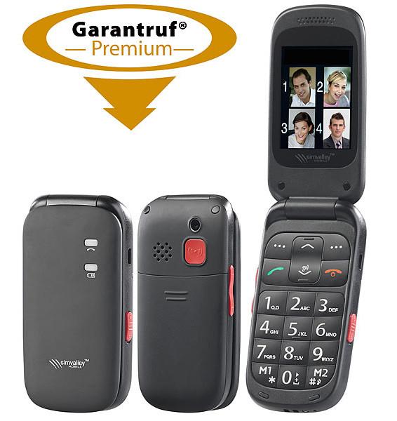 Téléphone Mobile à Clapet Avec Appel D Urgence Et Amplification Auditive Xl 948