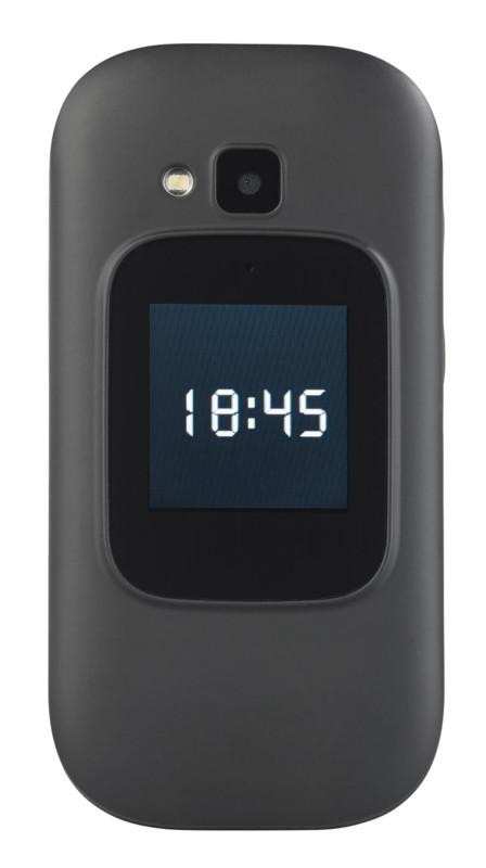Téléphone Portable à Clapet 2 écrans Avec Appel D Urgence Xl 965